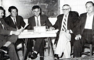 The first Executive Committee of the Association 1959- 1951