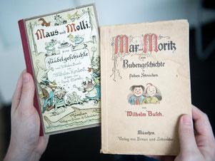 «Maus und Molli» erschien erstmals 1925. Foto: Daniel Naupold