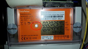 """Mein Smartmeter Modell """"EasyMeter Q3BA"""""""