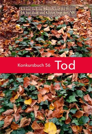 Buchcover Konkursbuch Tod 56