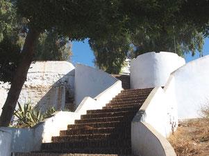 Chefcaouen - Treppen überall