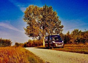 am 24.09.2011 starteten wir im Chiemgau in Richtung Süden