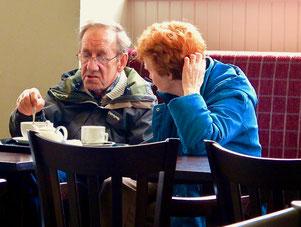 Tea-Time im Bistro von Gretna Green