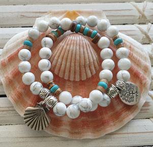 gemstone crystal energy bracelets handmade in Noosa Australia