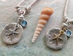 personalised word jewellery handmade in Noosa Australia
