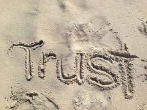 Vertrauen Trust Energiearbeit Name