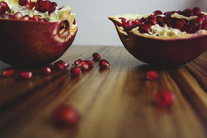 Granatäpfel-Superlecker und gesund