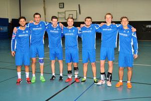 Das erfolgreiche Team v.l.n.r. Marco Kühner, Michael Krauß, Thomas Neumann, Patrick Schneider, Markus Schweigert, Tim Störkle, Moritz Höckele.