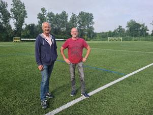 das Foto zeigt Horst Hoffmann und Hans-Dieter Klaassen
