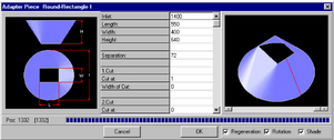 Screenshot Parametereingabe