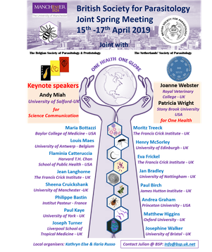 International meetings - Belgian Society for Parasitology