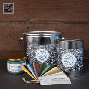 Reine Leinölfarbe von ALLBÄCK (200ml, 1l u. 3l) Produktfoto vom LEINFARBENHOF