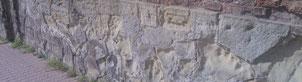 Steibnkrebs, Stein zerfällt, Fassade sandet  Schutz vor Zerfall