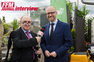 Dr. Peter Tauber im FFM JORUNAL Interview © rheinmainbild.de/Friedhelm Herr