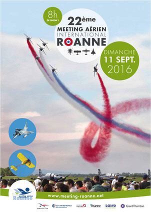 meeting aerien roanne 2016 , 22e Meeting Aérien International de Roanne , airshow 2016