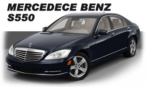 Hire Car - Mercedes Benz S550Long