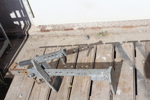 Pflasterhebezange 40 cm für Minibagger