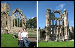 """""""Die größte Ex-Kathedrale Großbritanniens: Kathedrale von Elgin (Eilginn Muireibh) Moray, Schottland (57° 39′ 0″ N, 3° 18′ 50″ W)."""""""