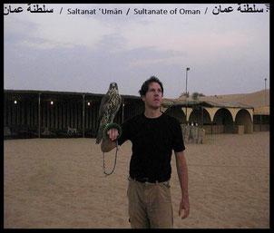 Trips in die arabische Wüste (hier im Sultanat Oman, 20° N, 56°) oder in die Halbwüsten Westafrikas (z.B. Toundou Saye, nordöstlich von Dakar, 16°11´52´N,16° 6´5´W)...