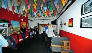 Bild:Ausstellung,Kulturschuppen Klosters,d-t-b,d-t-b.ch,David Brandenberger,Vernissage,