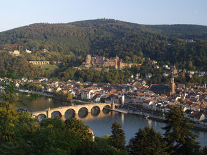 Heidelberg pont Neckar