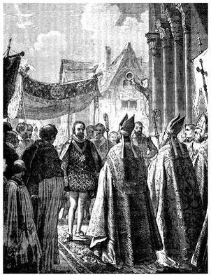 L'abjuration d'Henri IV, le 25 juillet 1593