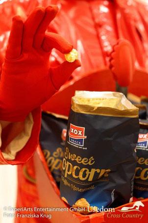 Die Snacks von XOX zeichnen sich durch eine hohe Qualität aus - die man schmecken kann! Foto: Franziska Krug