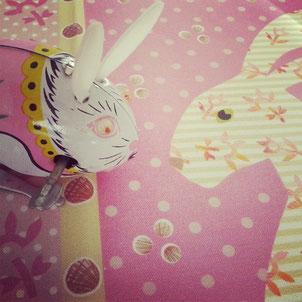 Aufziehbarer Spielzeug-Hase