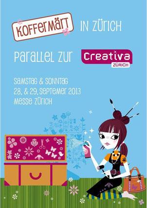 Koffermärt an der CREATIVA Zürich