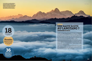 trekking langtang highlands nepatrek nepal