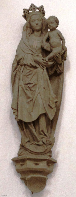 Madonna von Tilman Riemenschneider 1493; Neumünster, Würzburg