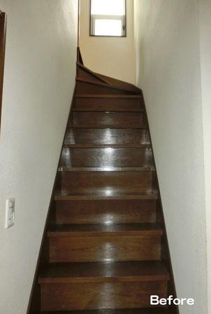 階段手すり(設置前)