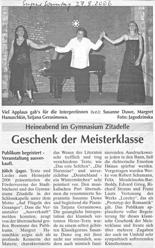 Super Sonntag vom 27.08.2006