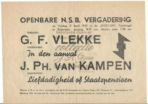 NSB Affiche: Openbare Vergadering Tweede Kamerverkiezingen 26 mei 1937 0.1