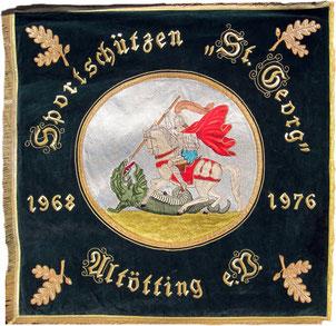 Vereinsfahne von 1976