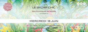Mercredi 18 juin Paillotte Bambou 18h - 23h
