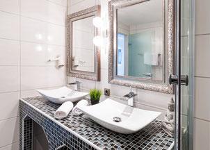 salle de bains design à Rennes réalisée par nos plombiers
