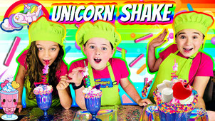 unicorn milkshake recipe, unicorn milkshake, the wild adventure girls, wild adventure girls