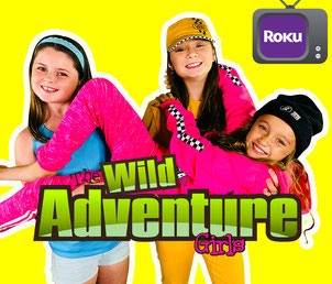 the wild adventure girls, app, roku