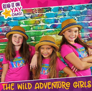 wild adventure girls, YAYOMG, kids show, the wild adventure girls, kids, youtube