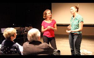 """""""Rivages"""", Sylvie Pabiot et Clotilde Amprimoz"""