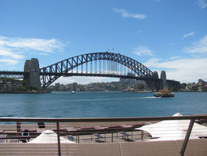 I walked the top of the Sydney Harbour Bridge!