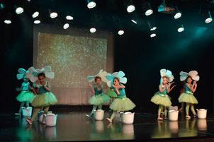 JARDIN DE DANZAS: Taller de Danza libre, Expresión corporal. Niñas 4 y 5 años de edad