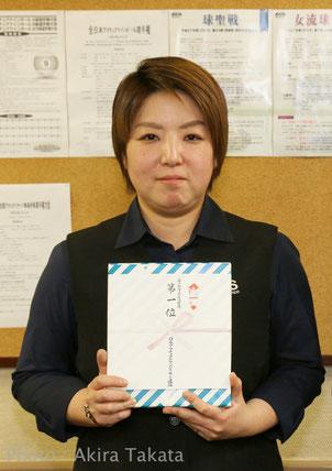 2015西女流球聖A勝者:松元亜弥