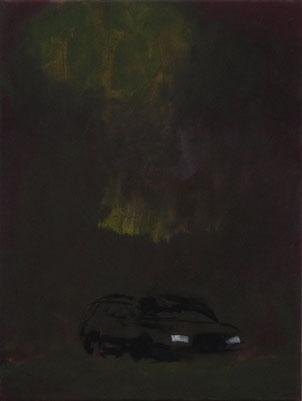 Auto, Öl/Leinwand, 40 x 30 cm, 2017
