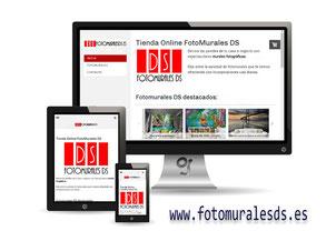 Tienda online fotomuralesds realizada por Granada Sites