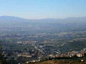 Vista desde la Cruz de la Sierra