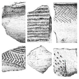 Fragmentos cerámicos de las Majolicas
