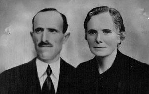 Abuelos maternos. José y Presenta