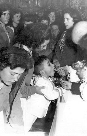 Mi primera comunión 1961